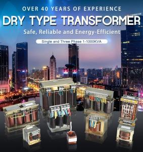 Best Single And Three Phase Dry Type Transformer 1-1000kva Copper Alumnium wholesale