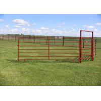 China PVC Coated Horse Corral Panels / Horse Gate Panels Sturdy And Durable on sale