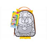 China Drawing Your Own Children's School Backpacks , DIY Arts And Crafts Kits on sale