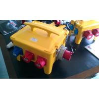 Best Waterproof Portable Distribution Box Customized Yellow ABS Power House wholesale