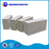 Best Square Shape High Purity Refractory Fire Bricks White Color For Glass Furnace wholesale