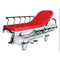 Best Red Color ABS Luxury Stretcher Hospital Emergency Bed , Easy To Clean wholesale