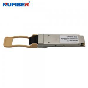Best QSFP28 100G SR4 Multimode 850nm 100m MPO Fiber Optical Transceiver wholesale