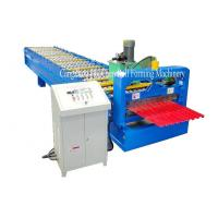 Buy cheap Garage Steel Roller Door Frame Roll Forming Machine , High Capacity product