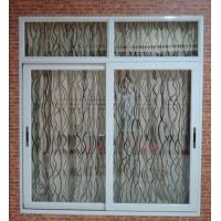 Best Weatherproof white material aluminum sliding windows with good sound insulation wholesale