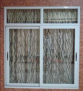 Best Weatherproof white material aluminum sliding windows with good sound insulation wholesale