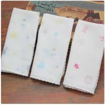 Best Plain / Woven Toddler Drool Bibs , Bamboo Gauze Fabric For Newborn Sensitive Skin wholesale