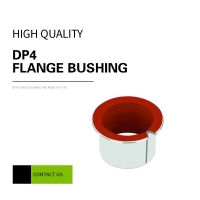 China Low Friction Coefficient Lead Free DP4 Flange Bushing on sale