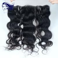 China Brazilian Hair Lace Front Closures With Bangs Ear To Ear Lace Frontal on sale