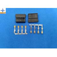 Best brass material Gold - Plated Signal Wire To PCB crimp Connectors terminals with 1.27mm Ptich wholesale