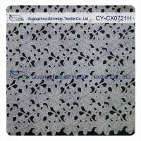 Thick Polyester Charming Allover Fabric Chemical Lace For Lady Garment