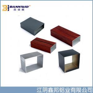 Best 6063-T5  Square Aluminium Tube Profile China Manufacturer wholesale