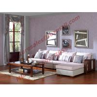 Best Solid Wooden Frame with Fabric Sectional Sofa in Home Furniture Set wholesale