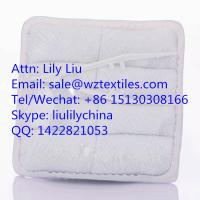 China white 100% cotton face towel for airline passenger on sale