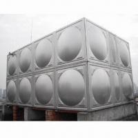 China Combined Stainless Steel Water Tank in Various Volume, without Large Hoisting Equipment on sale