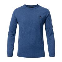 Best Crew Neck Knitted Mens Wool Pullover Sweaters Anti - Shrink For Autumn / Winter wholesale