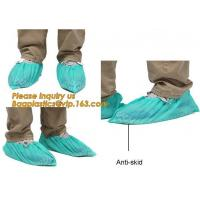 China Disposable Blue waterproof rain boot/shoe covers,rain cover for shoes,Eco-friendly Professional Shoe cover made in China on sale