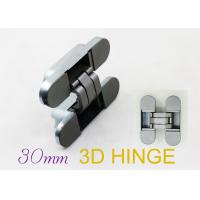 Best 180 Degree Hinges Three Way Concealed Adjustable Door Hinges For Interior Flush Doors wholesale