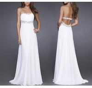 Best Maxi Backless Evening Dresses , OEM, ODM Slim Prom Dresses wholesale