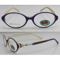 Best Full Rim Acetate Optics Frames , Kids Glasses Frames Oval Design wholesale