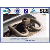 Best Russian Customized Elastic Rail Clips Steel Plain in Track System wholesale