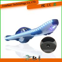 Electric Scooter Hoverboard With Bluetooth Remote 6.5 Inch Blue Skateboard For