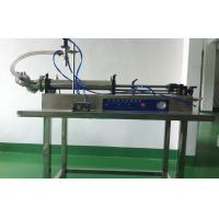 Best SUS316L Single Head Horizontal Self-suction Cosmetic Filling Machine For Ointment / Liquid wholesale