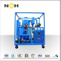 China High Vacuum Transformer Oil Purifier Dehydration With Roots Fixing Type With Four Wheels on sale