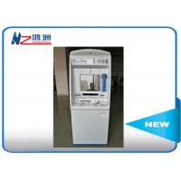 """Best China ID card self service kiosk gift card dispenser 19"""" TFT-LCD white blue wholesale"""
