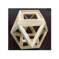 Best Solid Wood Creative Handcrafted Wooden Gifts Customized Wooden Flower Pot wholesale
