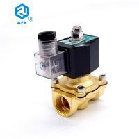 "Best 3/4"" Electric Water Solenoid Normally Closed Direct Acting Vale 10 Bar Working Pressure wholesale"