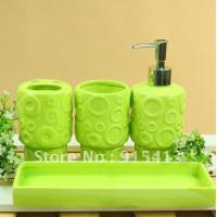 Best bathroom accessories gift suit with 8100(8pcs) wholesale