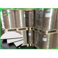 Best Thickness 1 / 1.5 / 2.0 / 2.5mm Grey Cardboard Sheets Recycled Paper For Boxes wholesale