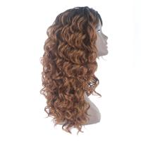 Buy cheap Synthetic Material Curly Hair Extensions Human Hair Lace Front Wig Technique from wholesalers