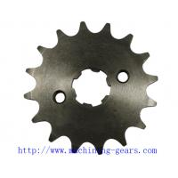 China Standard Motorcycle Chain Sprocket , ISO Certified 16 Tooth Sprocket Wheel on sale