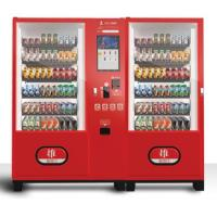 China Commercial Combo Vending Machine , Steel Trays High Tech Vending Machines on sale