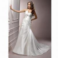Best Organza A-line Elegant Bridal Dress wholesale