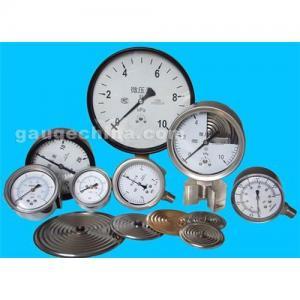 China Capsule low pressure gauge on sale
