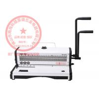 China Double Loop Wire Binding Machines Heavy Duty With 27 Square Hole on sale