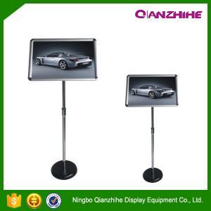 Best A4 Aluminum Frame Supermarket Promotion Standing Sign Holder wholesale