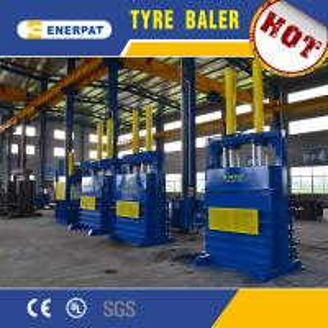 Best Hydraulic Vertical car tire baler machine/Tire press machine/Car Tire Debeader wholesale