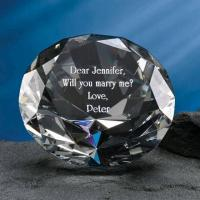 Buy cheap Crystal Diamond Paperweight from wholesalers