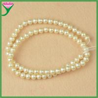 Best cheap loose 6mm A grade round fashion costume freshwater pearl strings wholesale