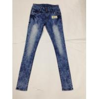 Best Western Fashion White Loose Fit Tapered Leg Jeans , Low Rise Skinny Jeans For Women wholesale