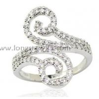 Best cz rings jewelry, 925 silver rings wholesale