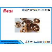 Best Class 900 # Cupro Nickel Pipe Fittings , Alloy Steel Slip On Copper Nickel Flanges wholesale