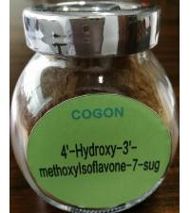 Buy cheap 20633 67 4 Methoxyisoflavone Powder Astragalus Extract Calycosin-7-O-Beta-D from wholesalers