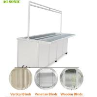 Best Fast Speed Industrial Ultrasonic Washing Machine For Wood / Vertical Blinds Remove wholesale