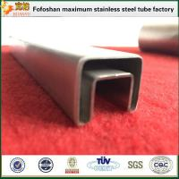Best Construction Material 316L Grade Stainlesss Steel Slotted Square Tubing wholesale