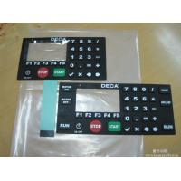 Best Silicone Rubber Membrane Switch Keyboard Metal Dome With Embossing 1500 V DC wholesale